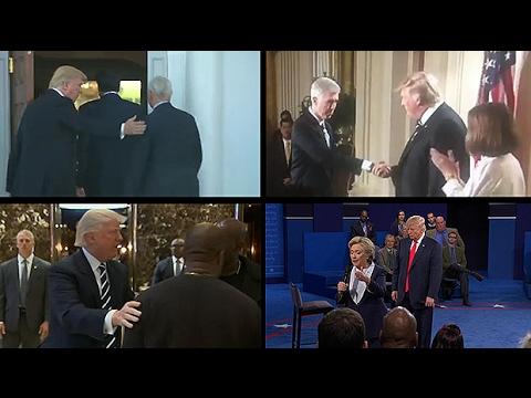 Donald Trumps alpha male body language