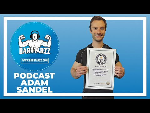 How To Do 68 Pulls Straight And Set A World Record Adam Sandel #13