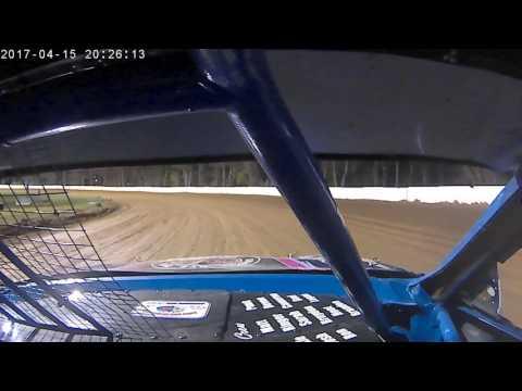 cumberland speedway 4/15/17 heat race 4 cyl 23B in car