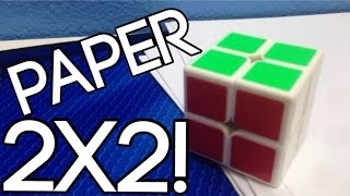 How To Make A Fully Functional Paper 2x2x2 Rubik's Cube