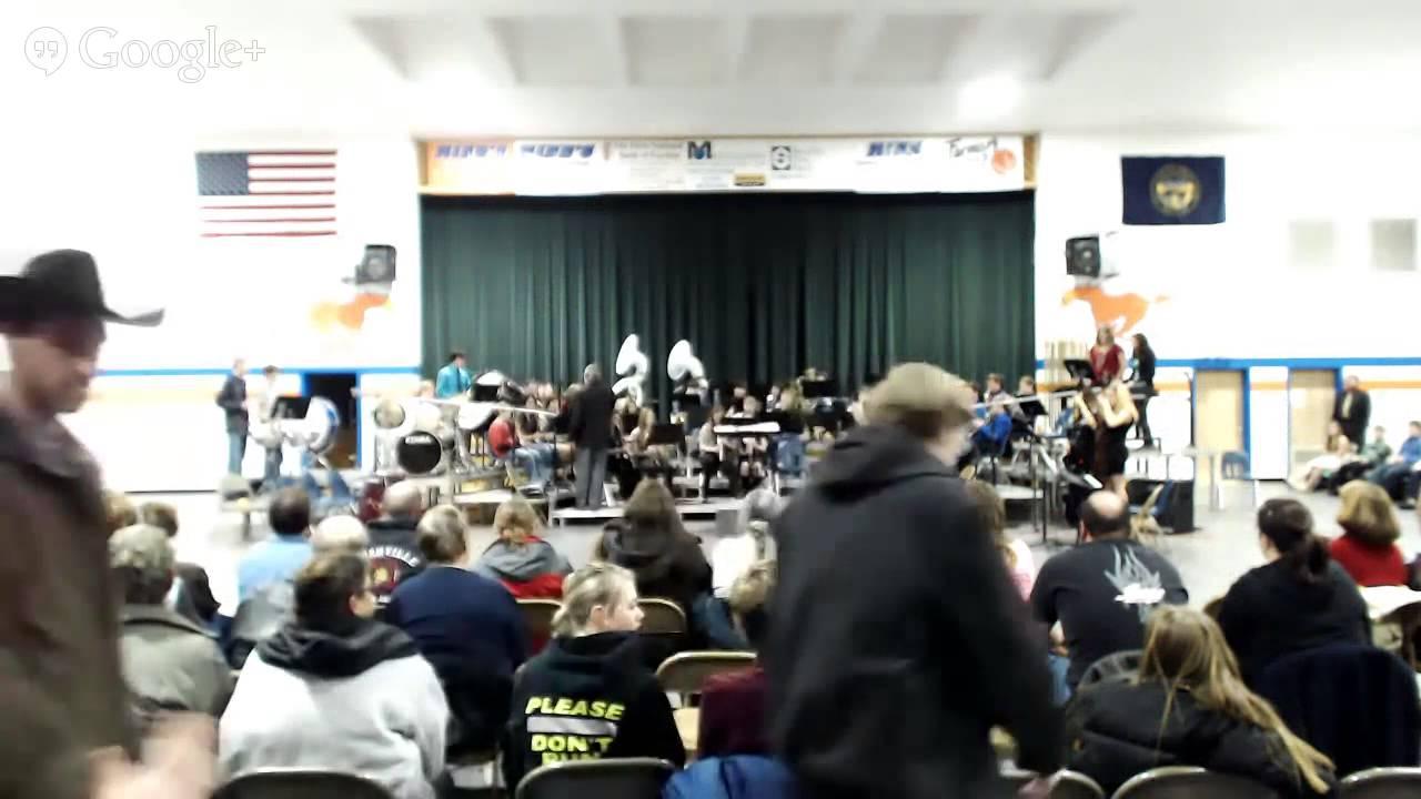 Gordon Rushville Middle School A Winter Concert 2013