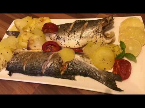 Italian Baked Fish Potato   Healthy Full Fish Fried   Quick Steamed Fish Recipe  