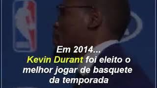 Kevin Durant emocionou o mundo com seu discurso