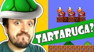 VAI TARTARUGUINHA!!!! - Super Mario Maker com Leon