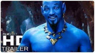 Disney's Aladdin 2019   Official Trailer   Will Smith, Mena Massoud, Naomi Scott