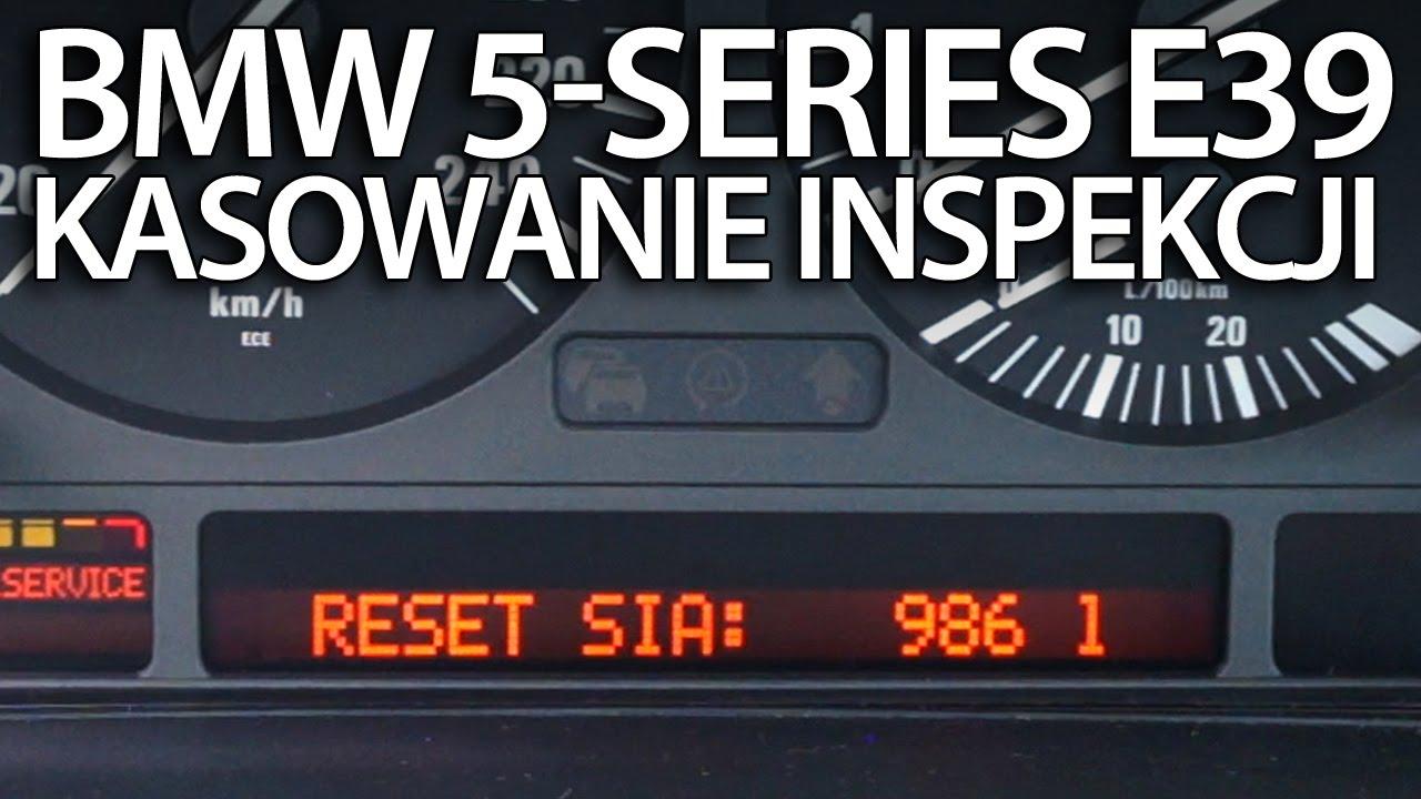 Kasowanie Inspekcji Serwisowej Bmw E39 Serii 5 Przegląd