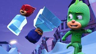 Герои в масках | Ледяной план Гекко | мультики для детей