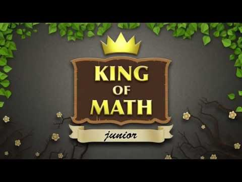King of Math Junior Trailer (Android & iOS)