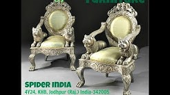 living room luxury chairs || Royal Chair || Luxury furniture || Royal Silver Sofa Set