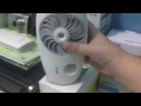 Krisbow Mini Portable Humidifier Fan Hd Youtube