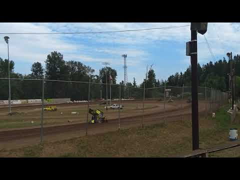 #sprint #car #racing dirt track 4th of July Cottage Grove Speedway Oregon