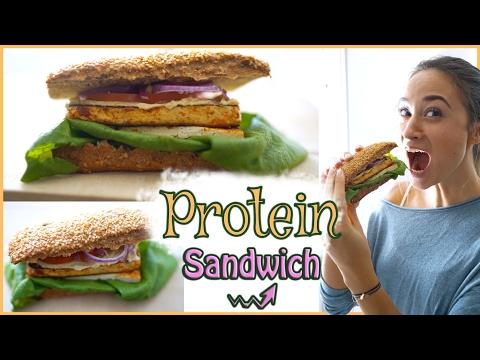 gesundes pausenbrot mittagessen zum mitnehmen veganes sandwich mit viel protein asurekazani. Black Bedroom Furniture Sets. Home Design Ideas