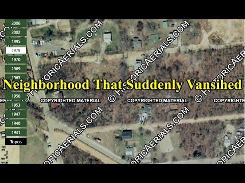 The NJ Neighborhood That Suddenly Vanished Abandoned Subdivision