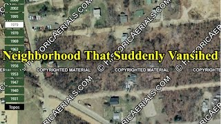 The NJ Neighborhood That Suddenly Vanished Abandoned Subdivision