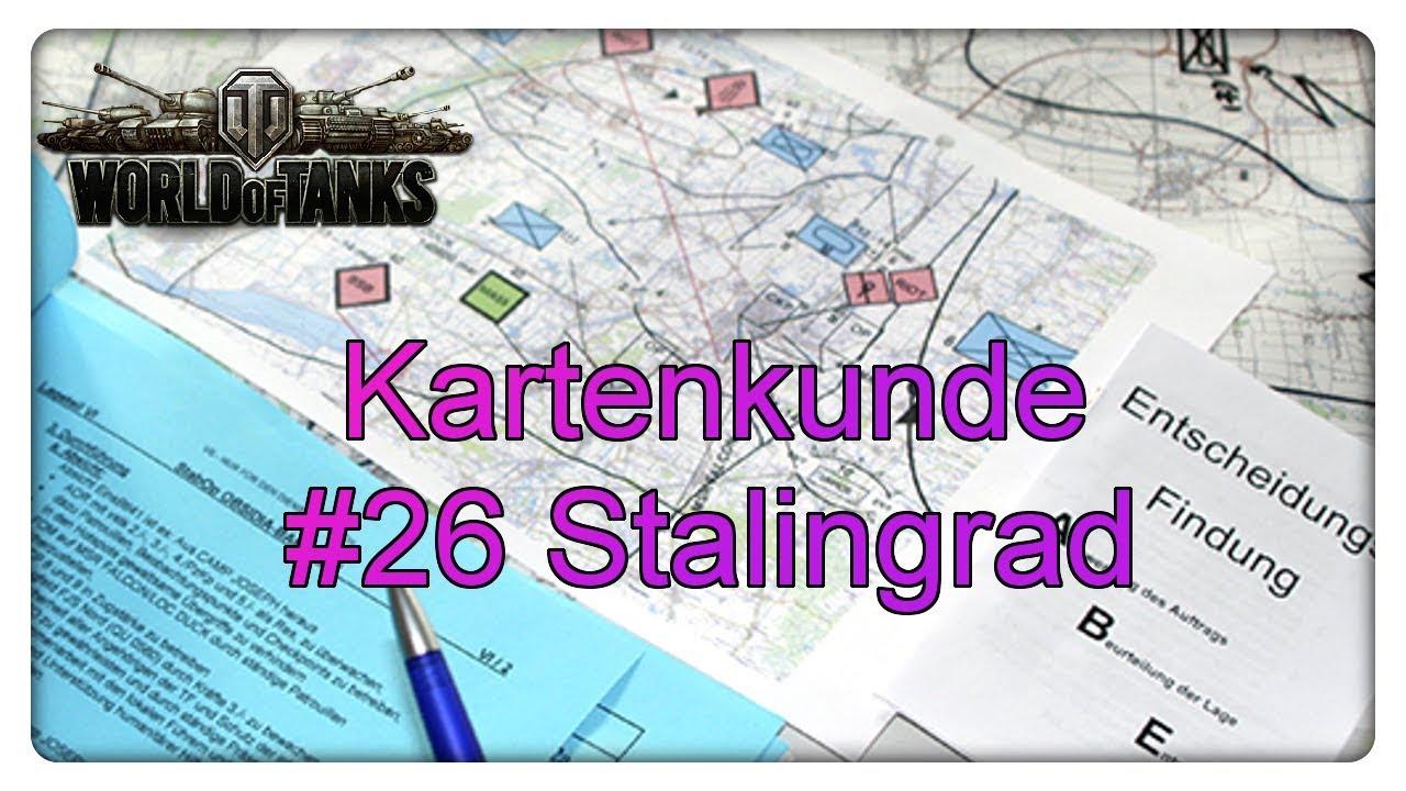 World of Tanks Kartenkunde: #26 Stalingrad - YouTube