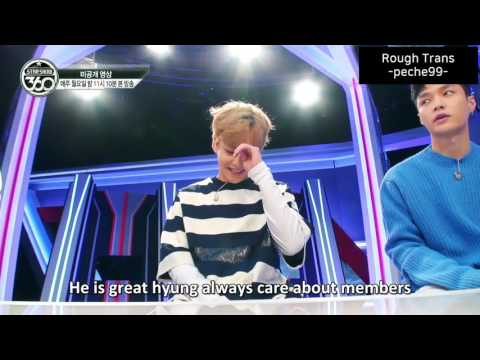 [eng sub] 160920 Star Show 360 ep.1 EXO XIUMIN Unseen cut 스타쇼 360 1화 미공개 시우민 컷