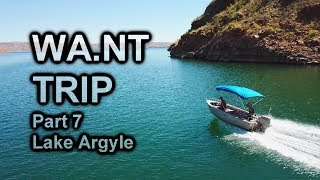 WA.NT Trip Pt. 7 | Lake Argyle | Losing The Boat