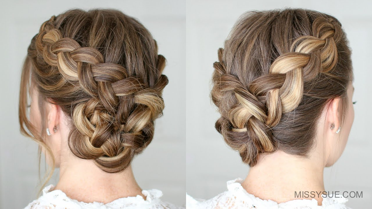 Hairstyles With Braids Tumblr: Missy Sue - YouTube