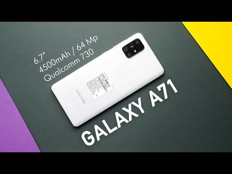 Обзор Samsung Galaxy A71. Сравнение с камерой Galaxy S10 Lite