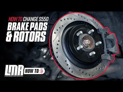 How To Change Mustang Brake Pads & Rotors (2015-2018)