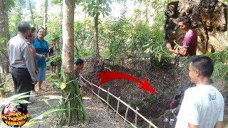 Diduga Stres Ditinggal istri, Pria ini Pahat Dinding Tanah Menjadi Karya Seni Fantastis.....WOOW