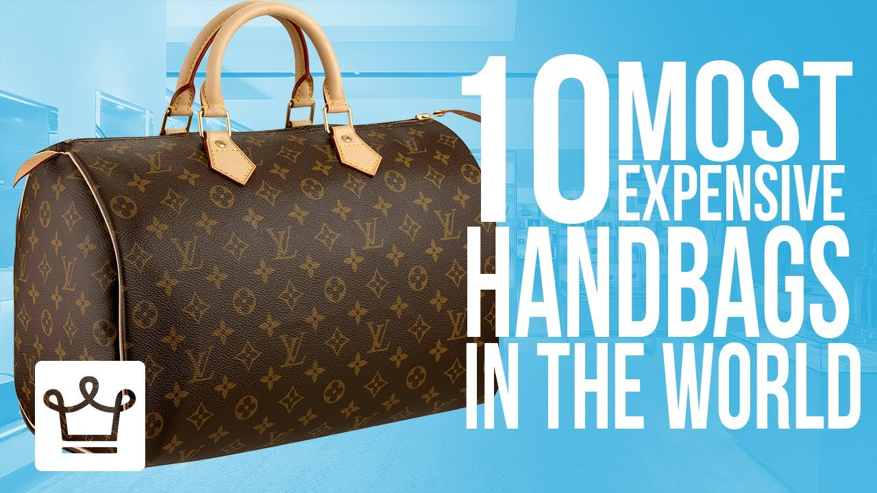 Louis Vuitton Trash Bags top 10 most expensive handbags in the world - youtube