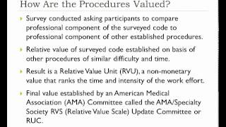 Module 1: Current Procedural Terminology (CPT)