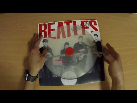 Unboxing: The Beatles - The Decca Tapes Clear Vinyl