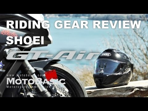 SHOEI GT-Air(ジーティーエアー) ライディングギア・レビュー  SHOEI GT-Air Review with Ninja 1000
