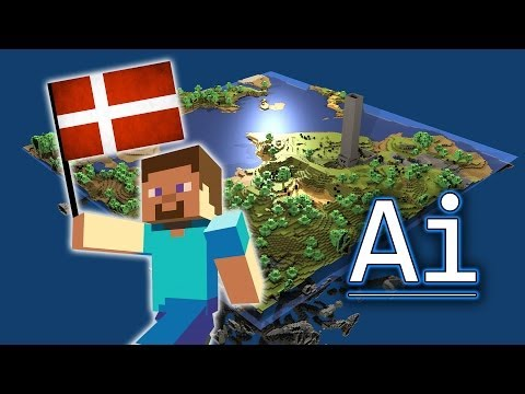Denmark Re-Created In Minecraft - (Holy Crap!)