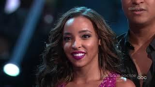 HD Tinashe and Brandon Dancing With The Stars Premiere   Week 1 - Jive
