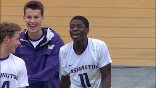 Recap: No. 16 Washington men's soccer downs California, 2-1, in overtime thumbnail