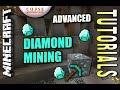 Minecraft PS4 - DIAMOND MINING ( ADVANCED ) How To - Tutorial ( PS3 / XBOX ) WII