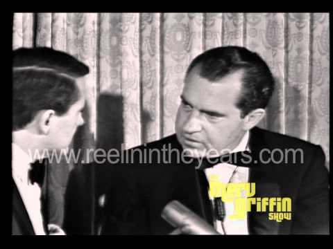Richard Nixon  Vietnam Merv Griffin  1966