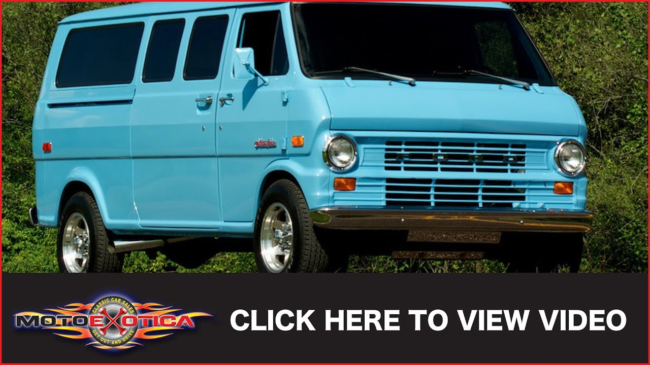 5ea4f85aac94d2 1973 Ford Econoline SuperVan (SOLD) - YouTube