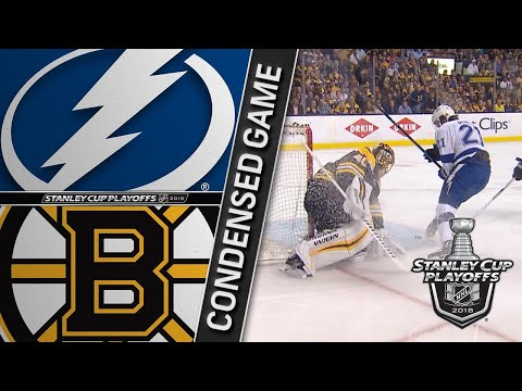 05/04/18 Second Round, Gm4: Lightning @ Bruins
