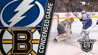 05/04/18 Second Round, Gm4: Lightning @ Bruins