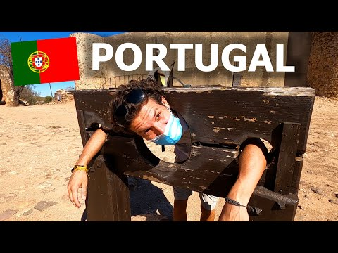 A DAY IN THE ALGARVE 🇵🇹 AMAZING HISTORY & BEACHES (PORTUGAL)