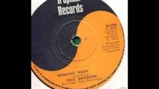Paul Davidson - Midnight Rider in full stereo