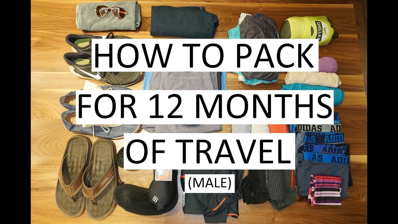 How to Pack for 12 Months of Travel (Male) - Nomatic Travel Bag    Week 19 d6a1671950cf5