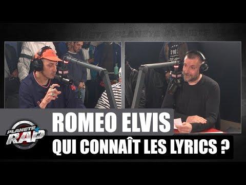 Roméo Elvis - Qui connaît les lyrics ? #PlanèteRap