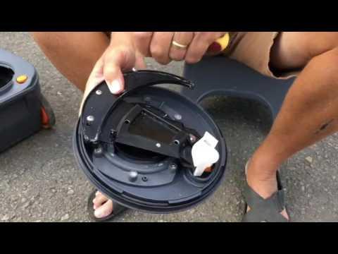 Thetford toiletcassette schoonmaken