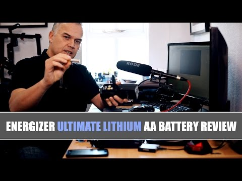 Energizer Lithium AA Battery Review
