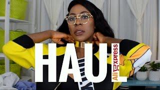 HAUL | ALIEXPRESS | ANU OGUNNEYE