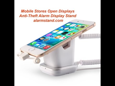 Telecom Mobile Phone Stores Anti-Theft Alarm Display Stands Tablet Security Holders