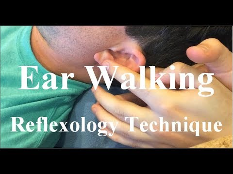 Walking the Ear Reflexes - Reflexology Technique