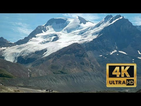 Explore the Canadian Rockies - Part 4 Driving Through Icefields Pkwy 4K UHD