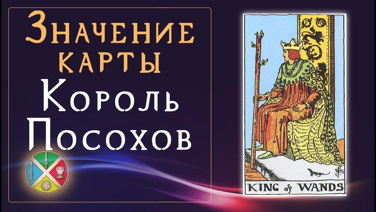 Значение карты Король Посохов. Младшие Арканы Таро. Придворные карты Таро.