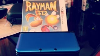 Rayman 3D - Unboxing & Gameplay Review For Nintendo 3DS