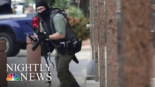 Suspected Gunman Killed After Shootout Outside Dallas Courthouse | NBC Nightly News